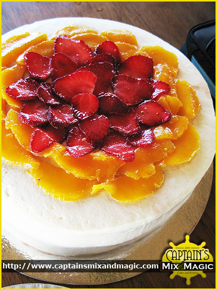 Fresh Fruit Chiffon Cream
