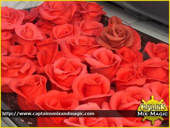 Red Roses Victorian
