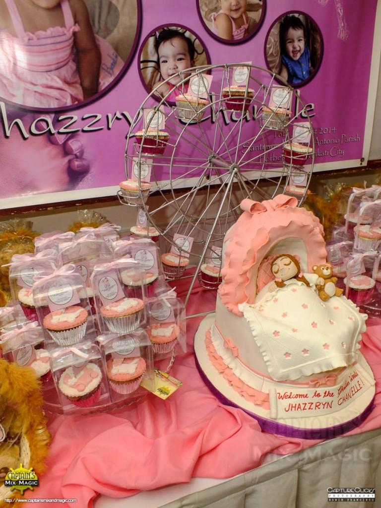 Baby Crib and 50 Cupcakes