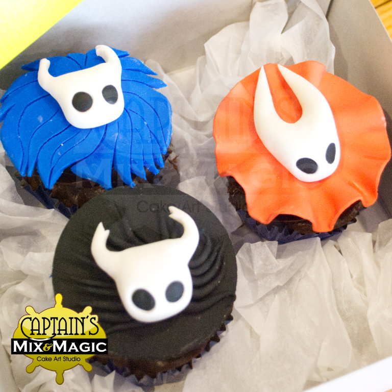 Hollow Knight Cupcakes