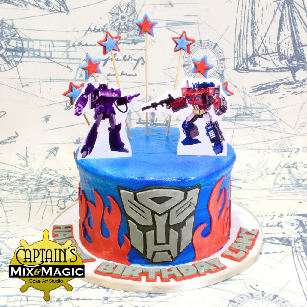 Optimus vs Shockwave