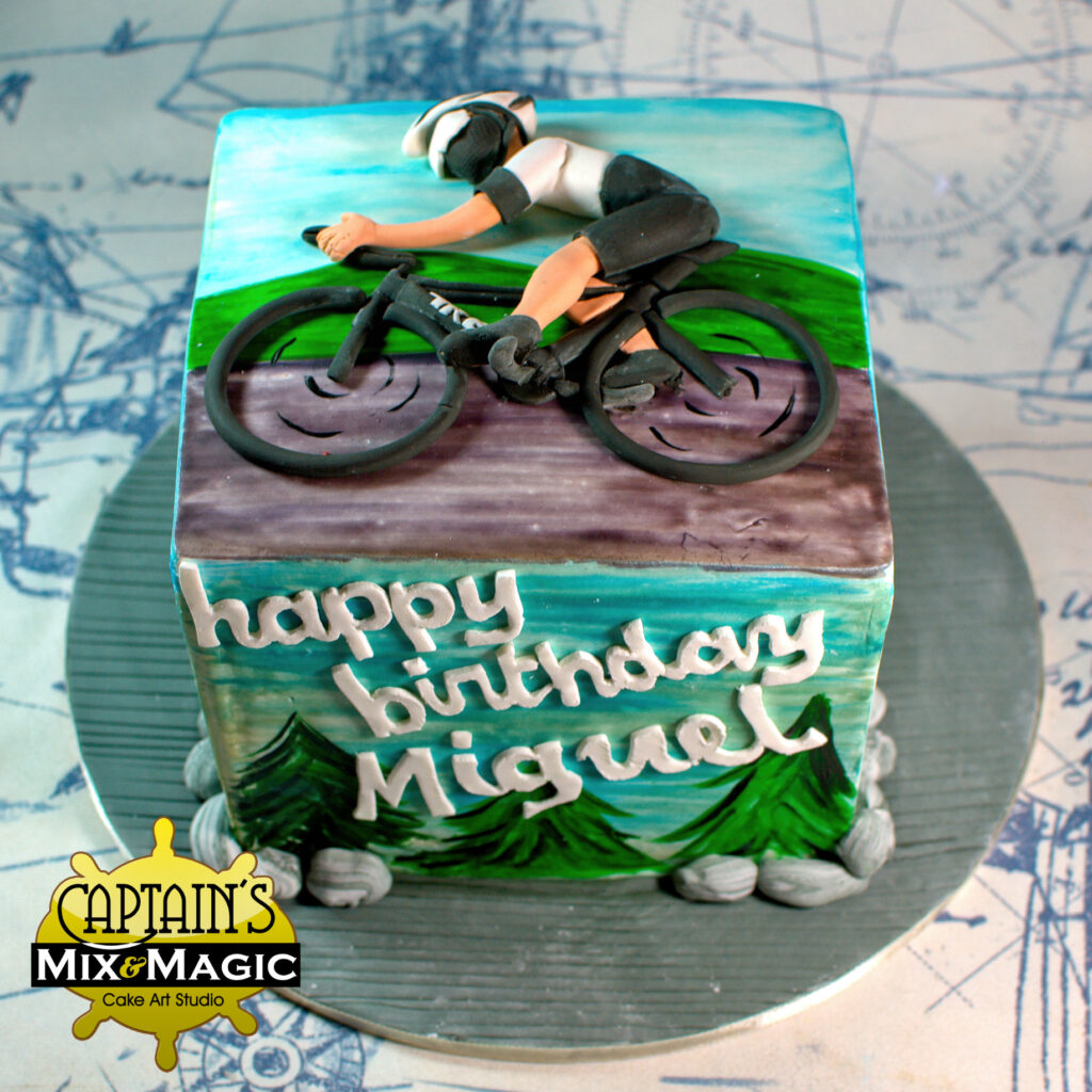 Cyclist Relief Cake